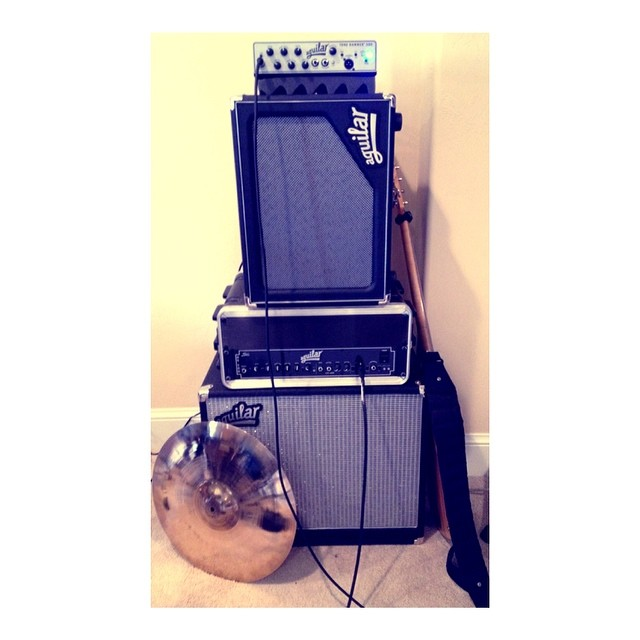 Thanks #aguilar for enabling @seanpblanchard and his gear collection! ;)
