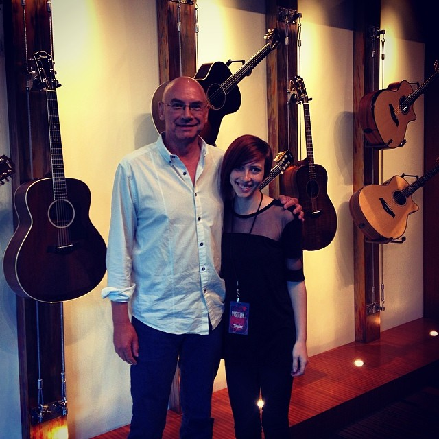 Thank you #TaylorGuitar and Tim Godwin for meeting with me today!