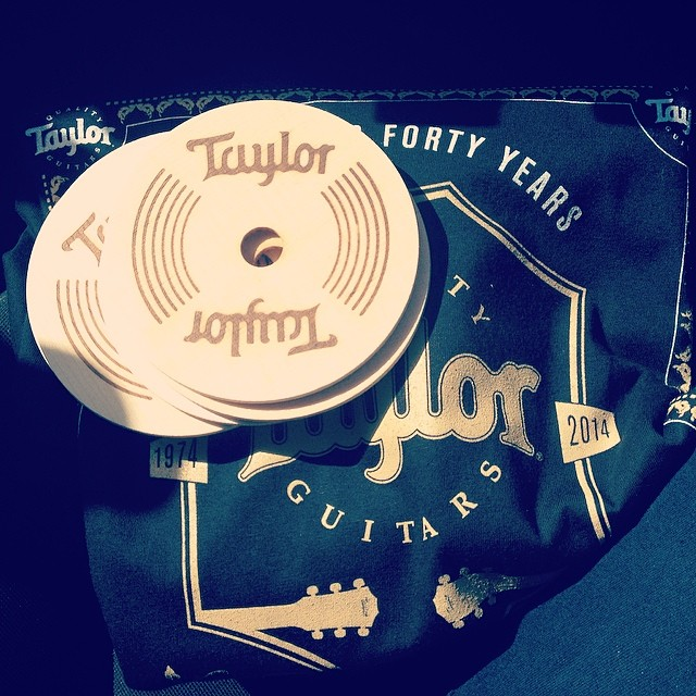 Thanks for the swag, #TaylorGuitars :)