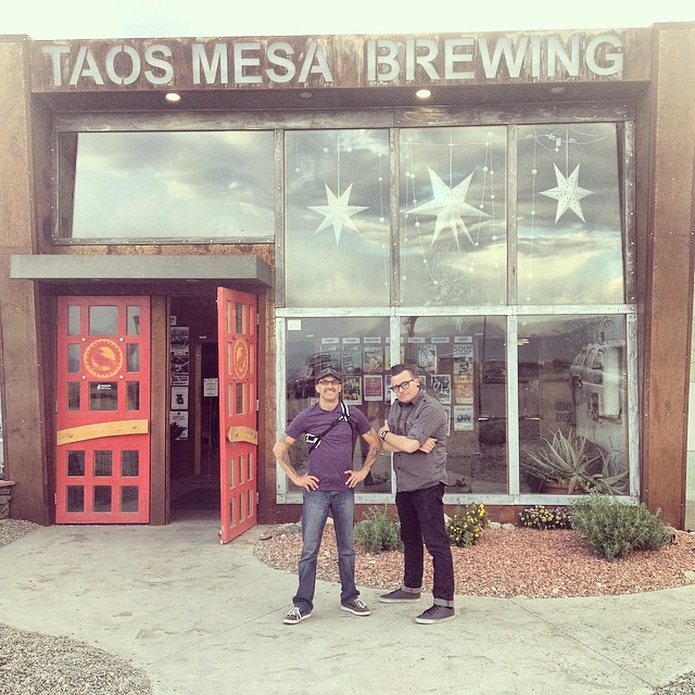 Had an amazing time play the eclectic #taosmesabrewing in #taos #newmexico !! Can't wait to come back!