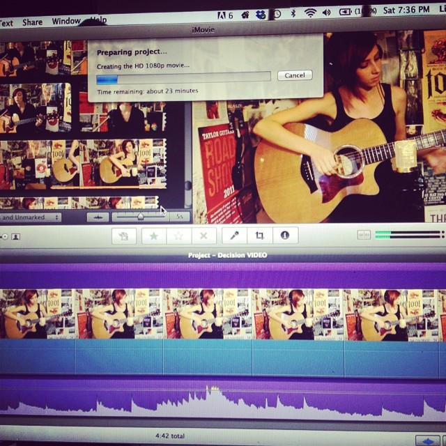 Getting ready to put up a new video/sneak peak at the instrumental EP!