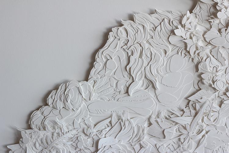 Christina och det vita lejonet detail