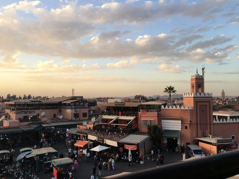 Jemaa el-Fna. Marrakech, Morocco.