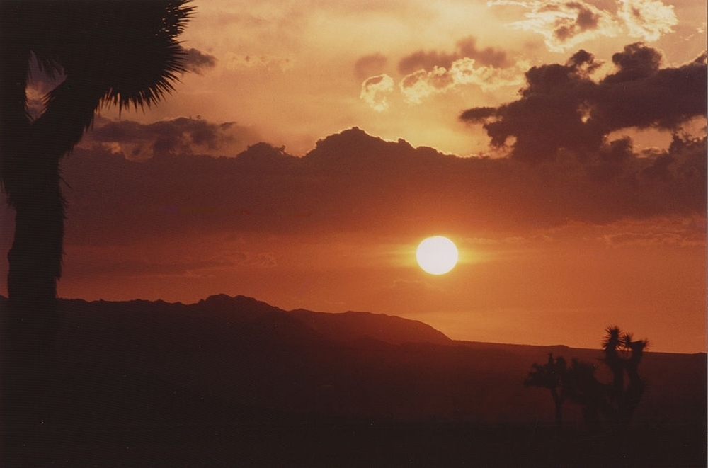 "Photograph ""High Desert Summer Sunset"" by Jesse Eastland."