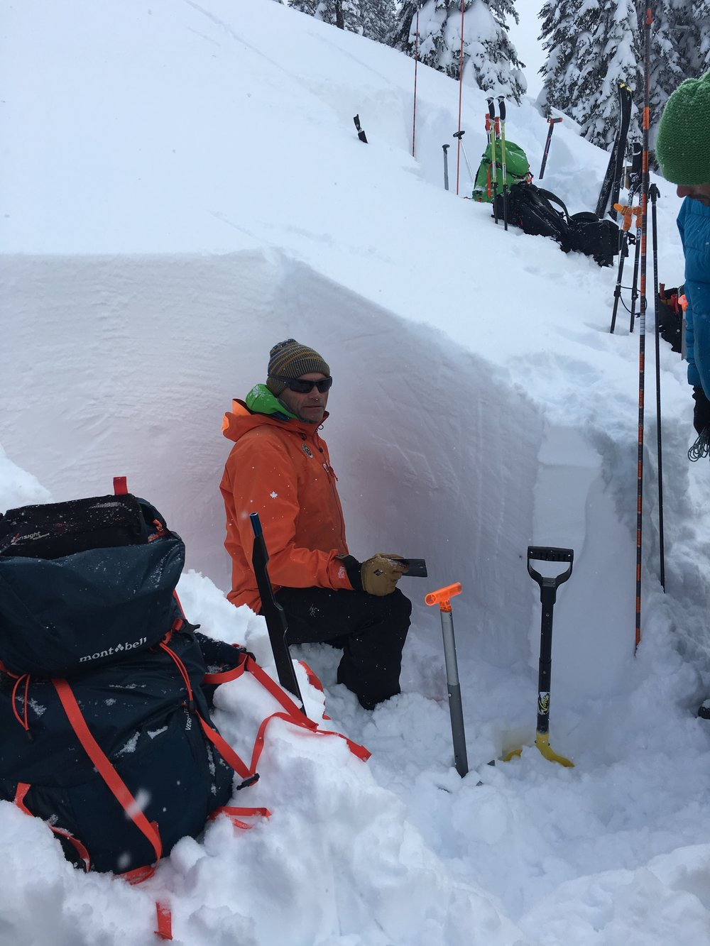 Legendary ski guide and avalanche educator, Colin Zacharias, at Ymir Lodge, 2018.