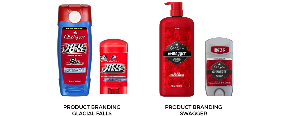 Product Rebrand Old Spice