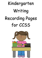 KINDERGARTEN WRITING GRADE SHEETS EDITABLE 8 Pages FREE