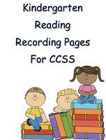 KINDERGARTEN GRADE PAGES READING EDITABLE 34 Pages FREE