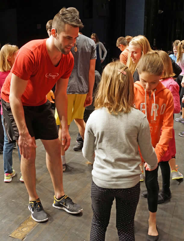 Wisconsin Singers work with more than 1,000 students in free workshops each year.