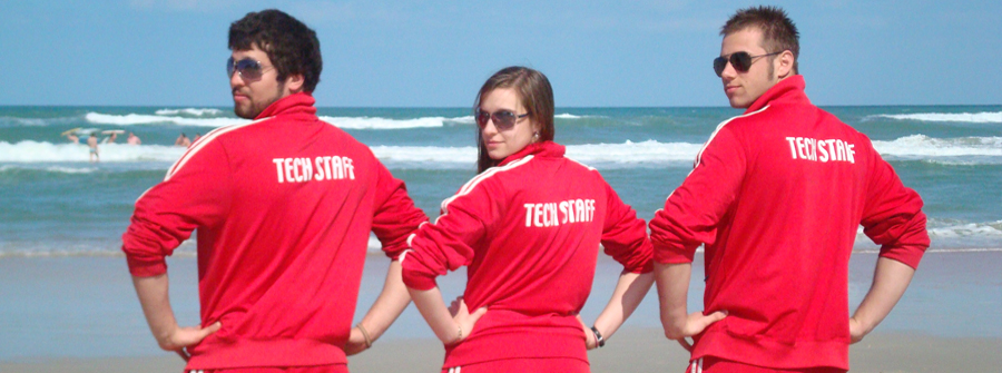 Techs ROCK the beach on the Spring Break Tour