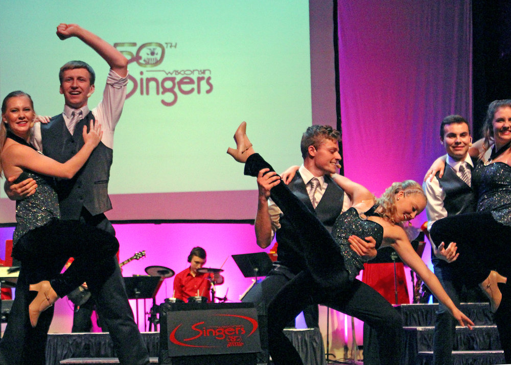 Wisconsin Singers 50th Annual ON CAMPUS SHOW  -    'Can't stop dancin' !""