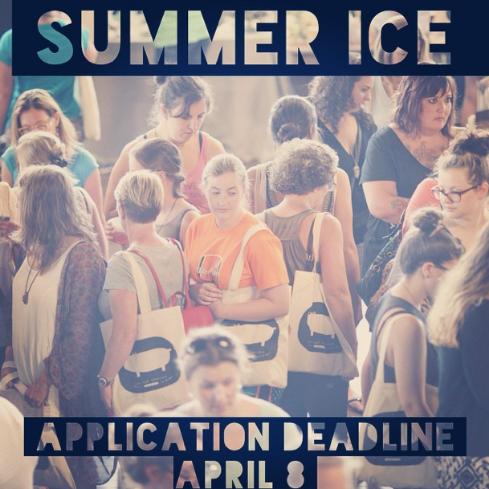 Application deadline April 8. Event June 6-7.
