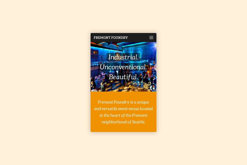 Fremont Foundry   Visual Design, Branding