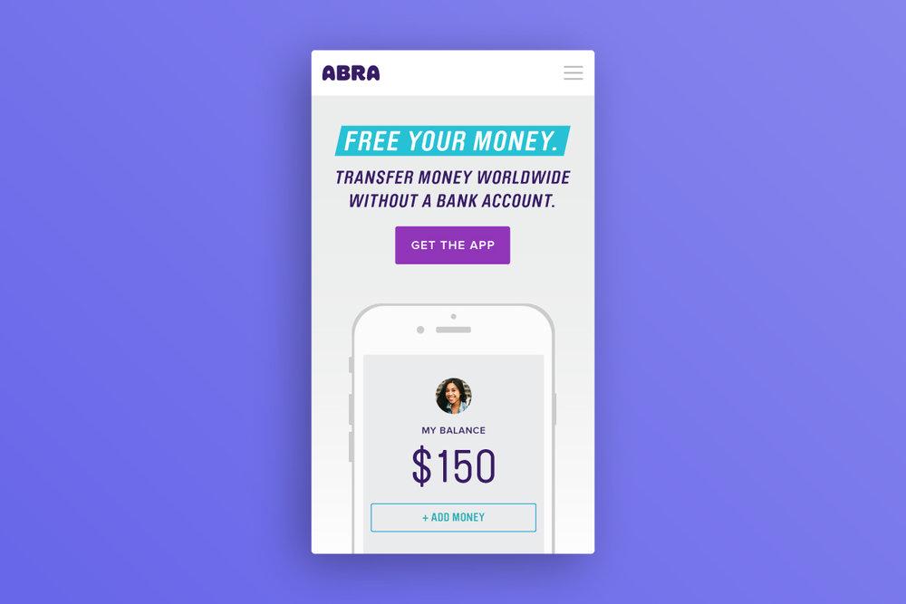 Abra   UX, Visual Design