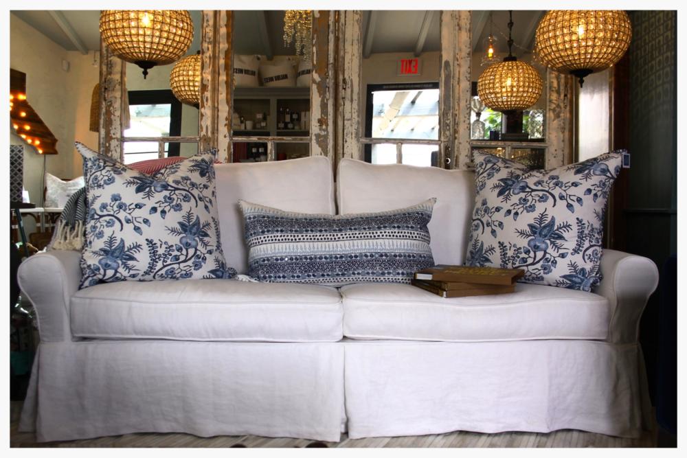 Moss Studio Custom Couch