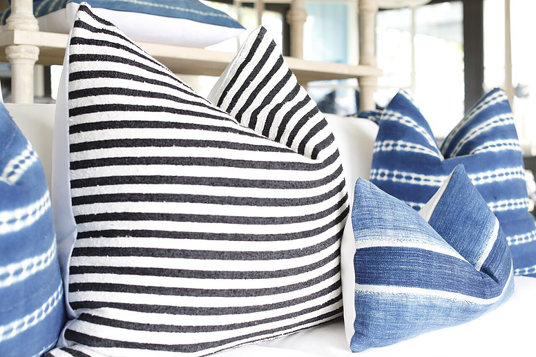 FRAGMENTS IDENTITY   assorted pillows. Pillows  Bedding   Throws   Malibu Beach House  A Home Design Store