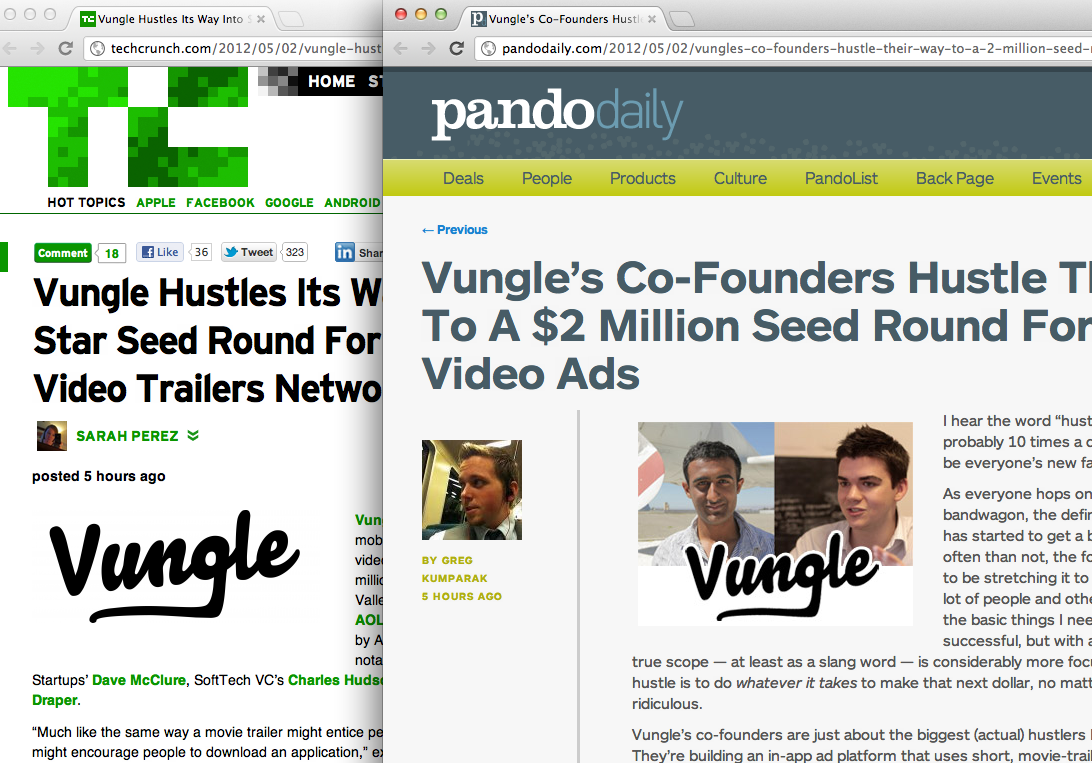 Keep Hustling Guys How similar are these sites becoming? It's ridiculous.