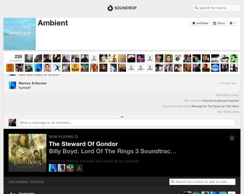 Lord of the Rings is considered ambient I love these soundtracks. So happy one randomly came up in Spotify.