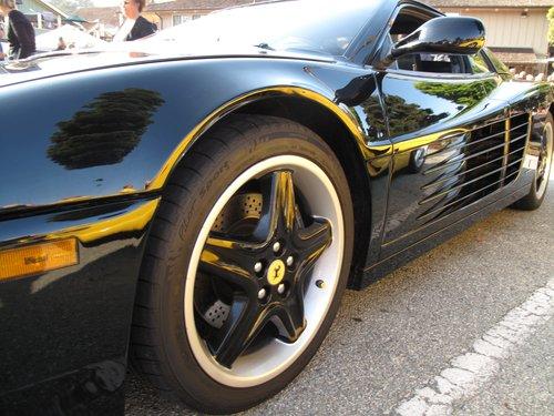 Ferrari Testarossa side: Taken at the 2009 Monterey car show.