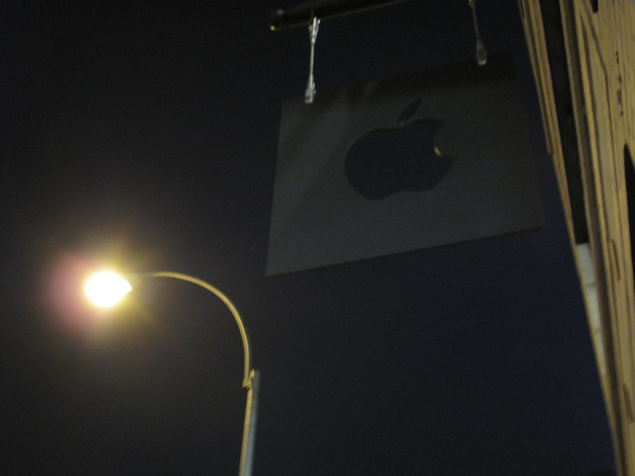 A Dark Chelsea Apple