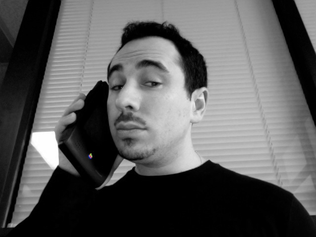 Making a phone call on my Newton