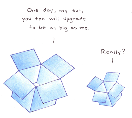 Dropbox upgrade