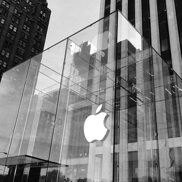 Glass like whoa (@ Apple Store)