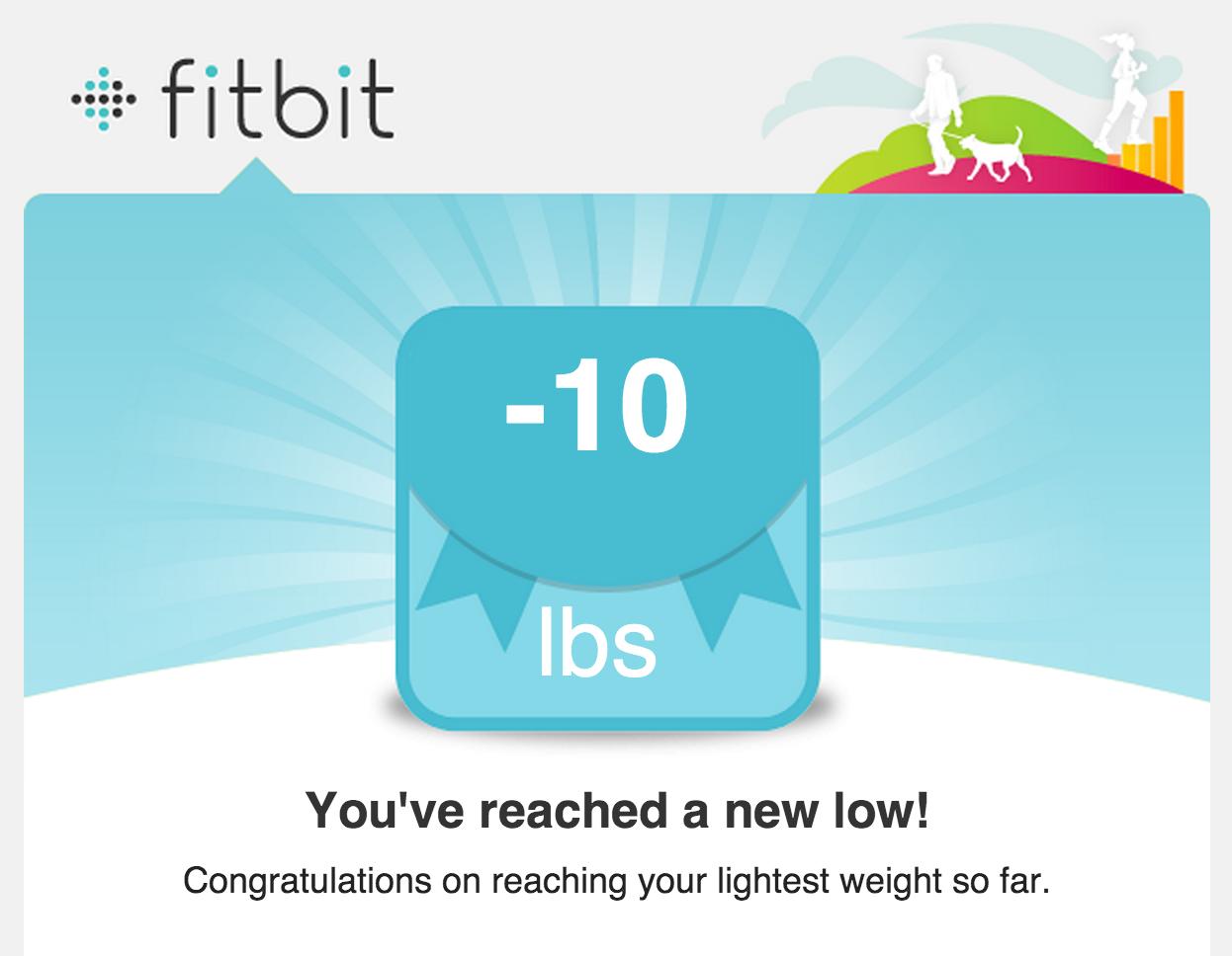 Thanks Fitbit!