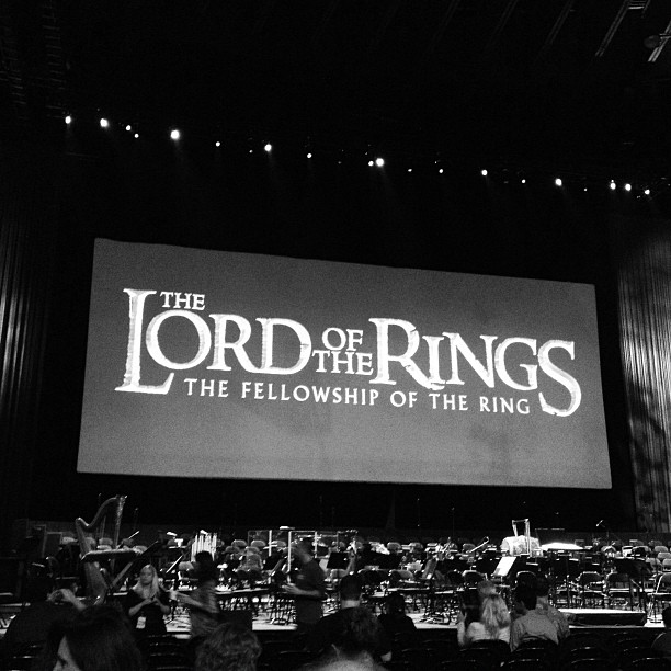 Lord of the Rings symphony. Badass. (Taken with Instagram at Oracle Arena)