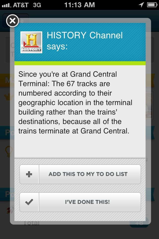 Why I use Foursquare in NYC It's actualy useful.