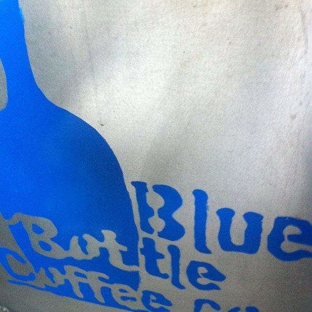 Love (Taken with Instagram at Blue Bottle Coffee Kiosk)