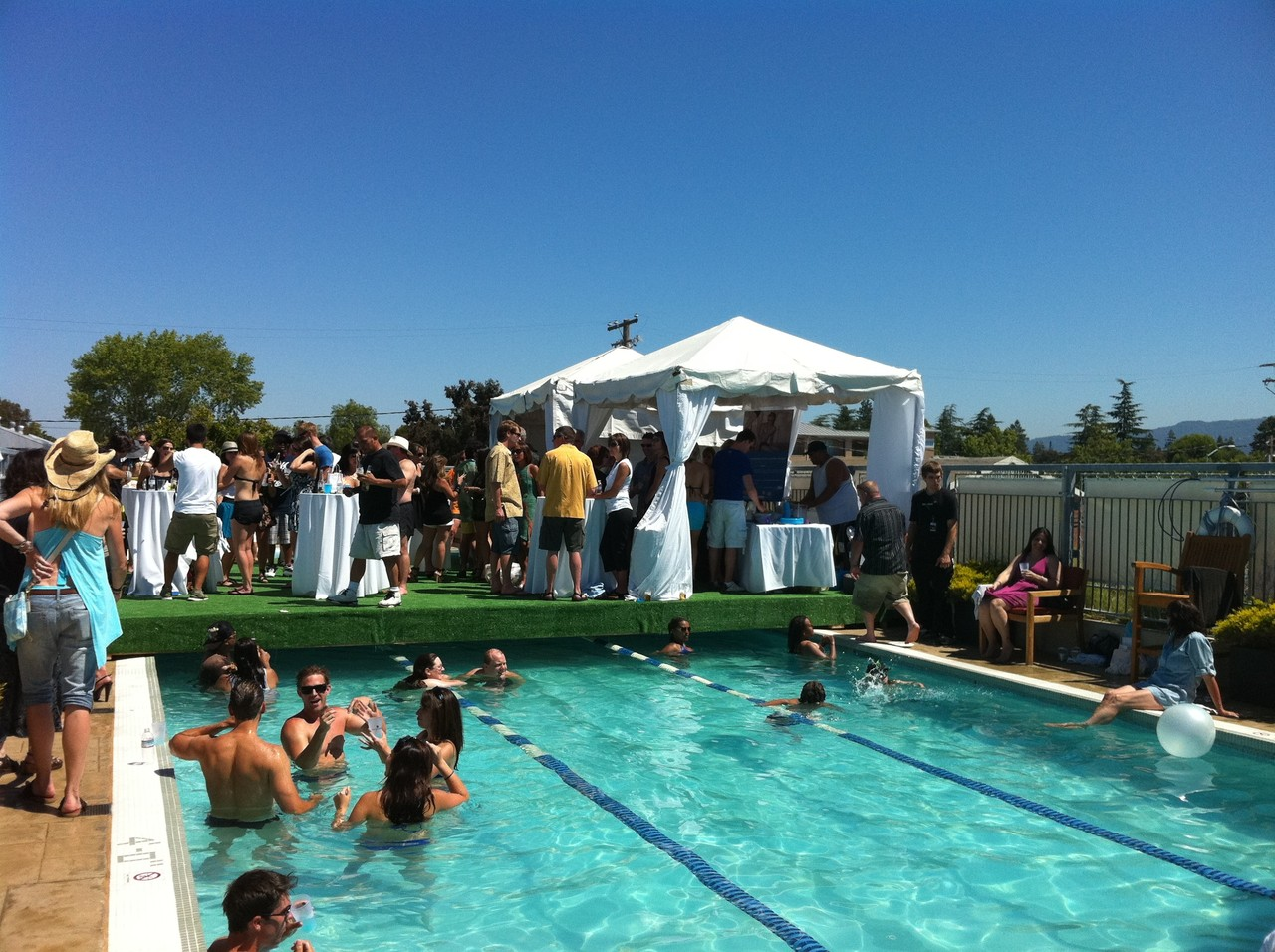 Equinox pool party Equinox is the best gym ever.
