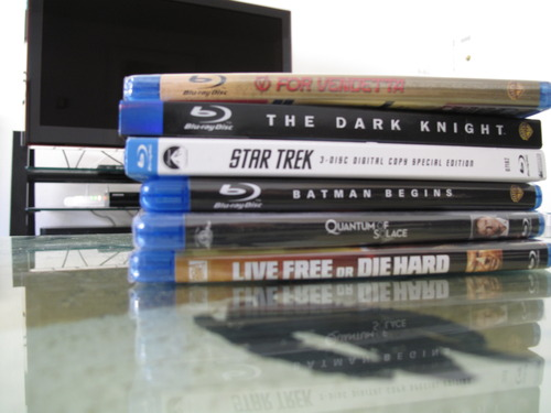 A collection has begun: 6 Blu-ray discs so far. More to come. The Amazon wish list is growing…