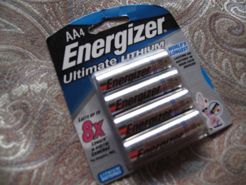 The most powerful batteries ever: Energizer. Ultimate. LITHIUM. 8x longer? For what they cost, these batteries better last until whatever they are powering becomes obsolete.