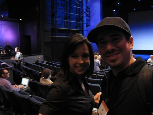 Natali del Conte + David Klein: I finally met Natali del Conte! She's awesome.