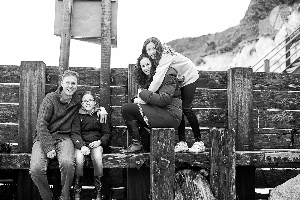Family portrait - Holywell - Eastbourne