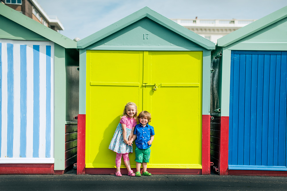Brighton Beach huts - Hove Lawns