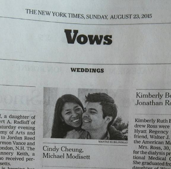 One of my images on New York times