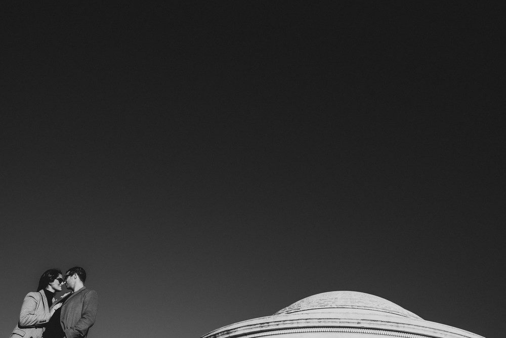 Jefferson Memorial Washington DC Engagement Session by Mantas Kubilinskas-3.jpg