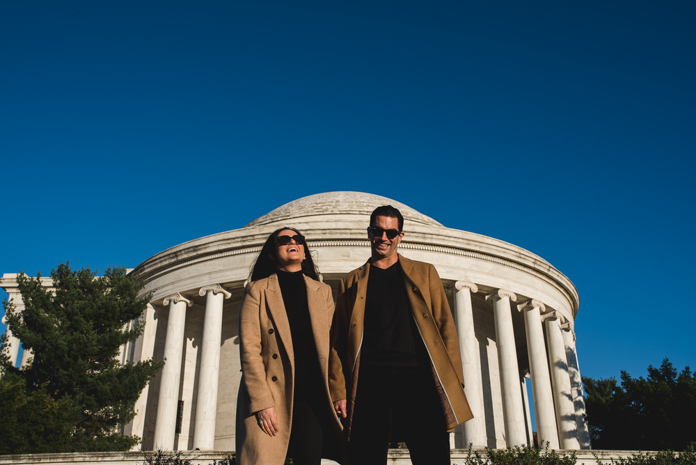 Jefferson Memorial Washington DC Engagement Session by Mantas Kubilinskas-2.jpg