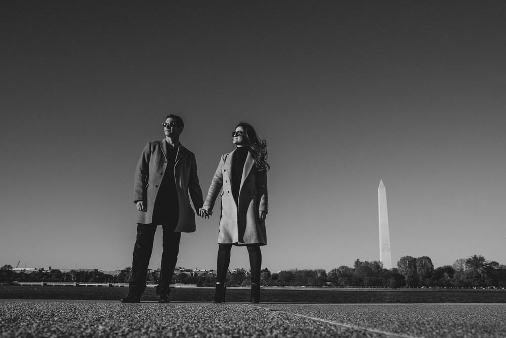 Jefferson Memorial Washington DC Engagement Session by Mantas Kubilinskas-6.jpg