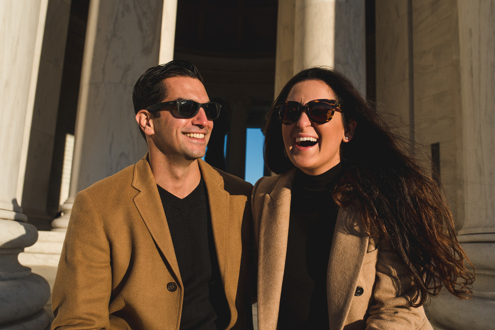 Jefferson Memorial Washington DC Engagement Session by Mantas Kubilinskas-8.jpg
