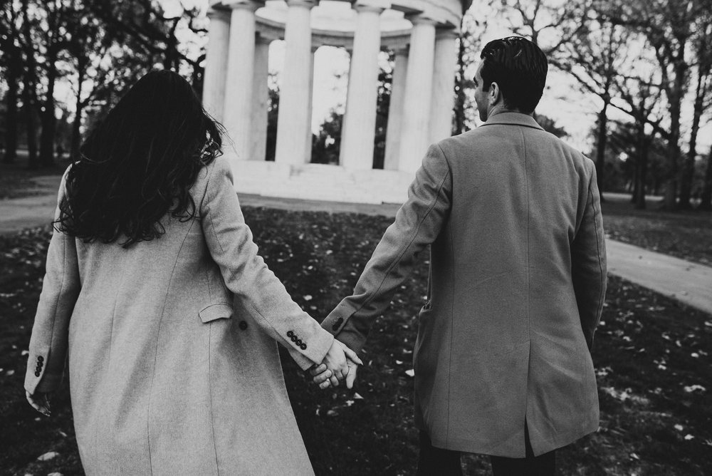 Jefferson Memorial Washington DC Engagement Session by Mantas Kubilinskas-22.jpg