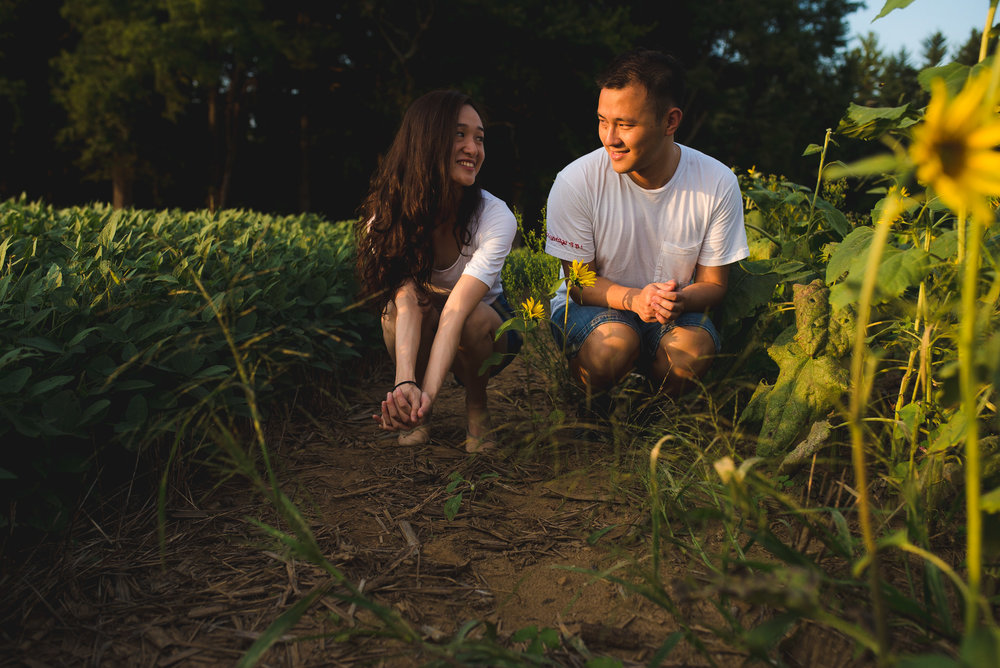 Sunflower Field Maryland Engagement Photographer Mantas Kubilinskas-6.jpg