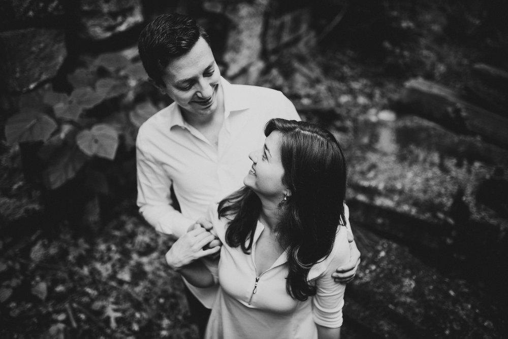 Stones from US Capitol in Rock Creek Park Engagement Session.jpg