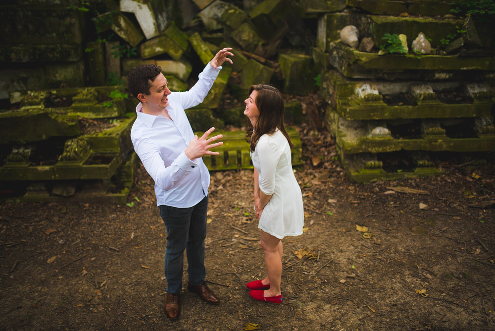 Stones from US Capitol in Rock Creek Park Engagement Session-3.jpg