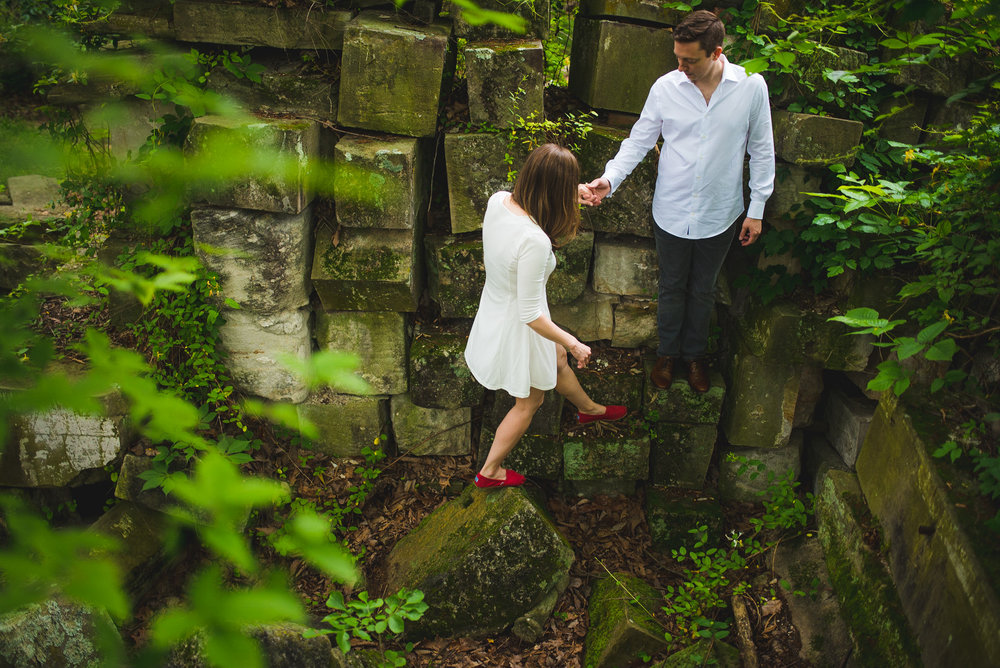 Stones from US Capitol in Rock Creek Park Engagement Session-5.jpg