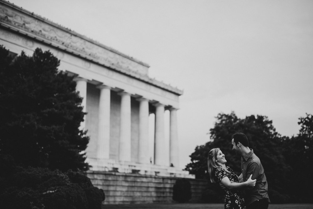 Lincoln Memorial Documentary Engagement Session_-10.jpg