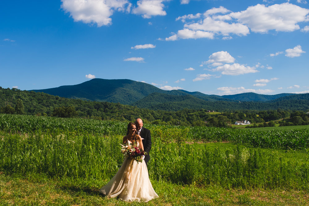 Shenandoah Woods Wedding