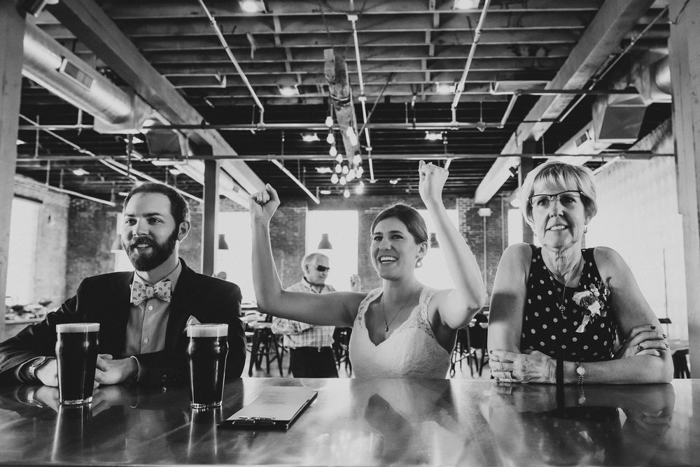 4 Hands Brewing Co Wedding St Louis